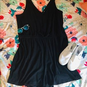 NWT Old Navy terry romper.